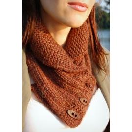 Col châle - col tricoté