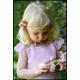 Petit jardin de printemps - haut tricoté, enfants