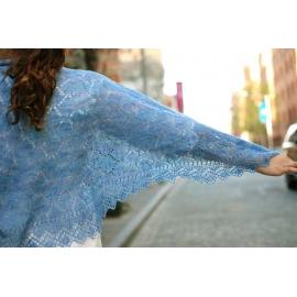 Euphrosyne - châle tricot