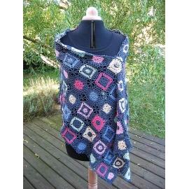 Allsorts - étole crochet