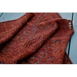 Hamamelis - châle tricot