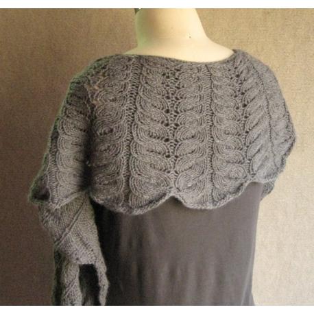 Kelm - châle ou col tricoté