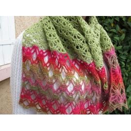 Organic - étole crochet
