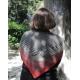 Faux jumeau - châle tricot