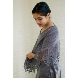 Saranac - châle tricot