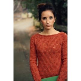 Fin d'automne - pull tricoté