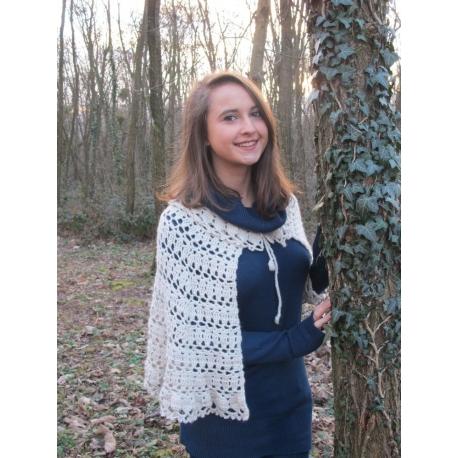 Debussy - chauffe-épaules au crochet
