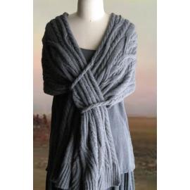 Interlochen - étole tricot