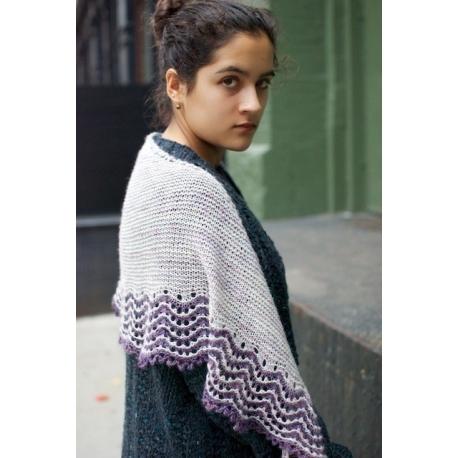Montrachet - châle tricot