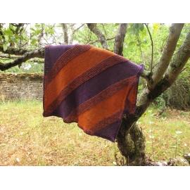 Stina - couverture tricot