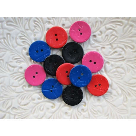 Boutons coco vernis couleur