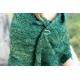 Jardin secret - châle tricot