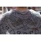 Liz Christy - châle tricot