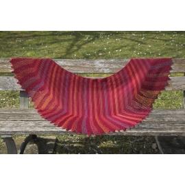 Firebird - châle tricot
