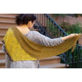 Puddle Stomper - châle tricot