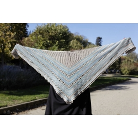 Allure nature - châle tricot