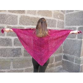 1847 - châle tricot