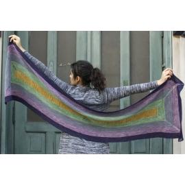 Fort Tryon - étole tricot