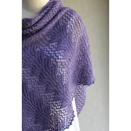 Jacinthe d'eau - châle tricot