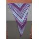 Crazy Stripes - kit complet pour châle tricot