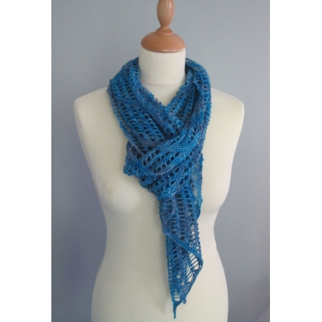 Mum's Wrap - étole tricot