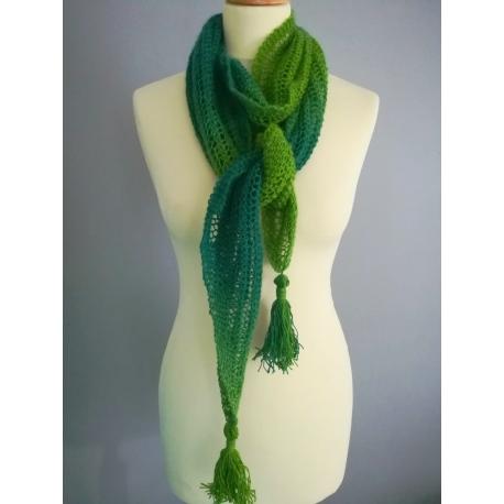 Véra - écharpe tricot
