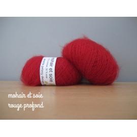 Mohair et soie