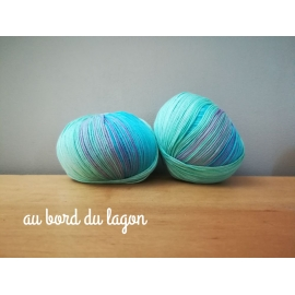 Coton bio multicolore