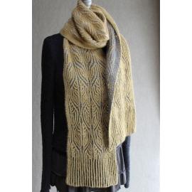 Soutache - écharpe tricot