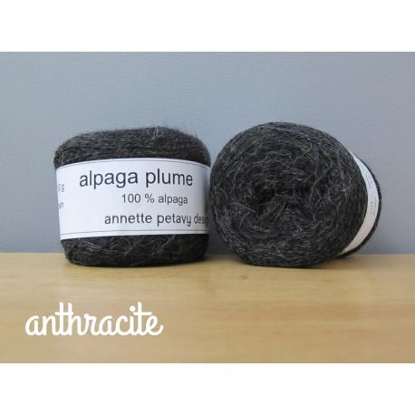 Alpaga plume anthracite