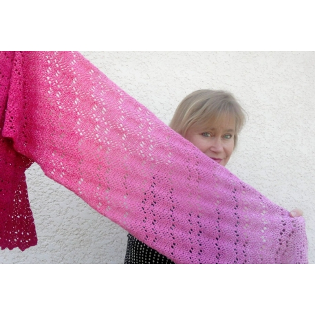 Marie-Galante - étole crochet