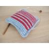Introduction au crochet tunisien - kit pique aiguilles