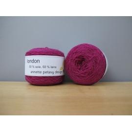 London - fil dentelle en laine et soie