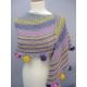 Guinguette - châle tricot