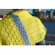 Equinoxe - châle tricot