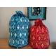 Kit Rhombique (fils) - petit sac cyclamen et mon fuchsia