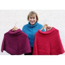 Alice - poncho tricot