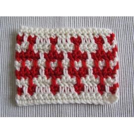 Stage crochet mosaïque - technique sur 2 rangs
