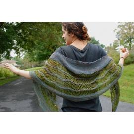 Ziggity - châle tricoté