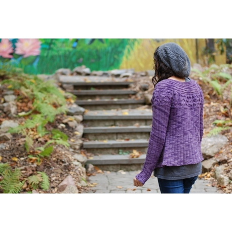 Washington - veste tricotée