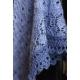Viola - châle tricoté