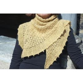 Toscane - châle crochet