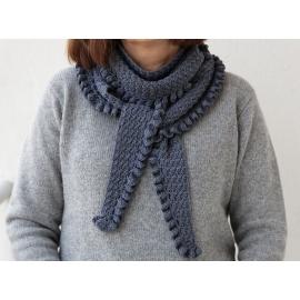 "Solveig - ""baktus"" au crochet"