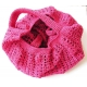 Sacs filet au crochet