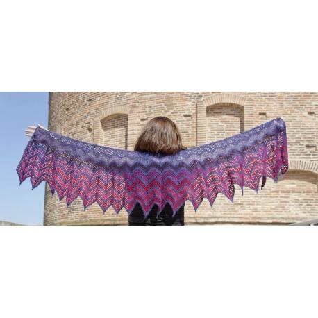 Pipistrelle - châles crochet