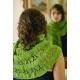 Perce-neige - châle tricot