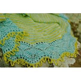 Cladonia - châle tricoté