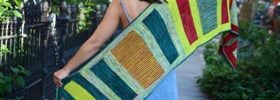 Alice poncho tricot